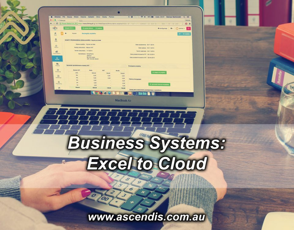 Business Systems - Excel to Cloud